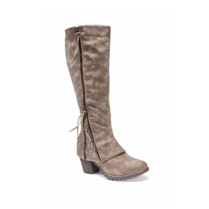 Muk Luk Lacy Faux Fur Lined Boot